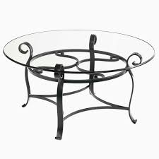 glass nesting coffee tables ideal 15 round glass top coffee table wrought iron