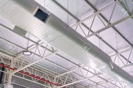 Duct Line Design Building Interior Air Duct Air Condition Pipe Line System Air