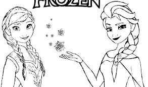 Disney Princess Coloring Pages Frozen Anna Coloring Pages And