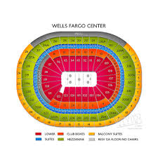 wells fargo center concert seating at the philadelphia arena