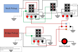 humbucker wiring help!!! Wiring Split Humbucker Dpdt Pot but having series parallel and coil splits on several guitars i recommend coil splitting parallel sounds really thin but coil splitting can be done using Dpdt Relay Wiring