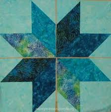 Nancy Zieman shows how to sew lone star quilts, seen on TV ... & Lone star quilt templates by Nancy Zieman. How-to-sew easy lone star Adamdwight.com