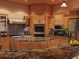 quartz countertops with oak cabinets. Simple Oak Kitchen  Quartz Countertops With Oak Cabinets  Inside P
