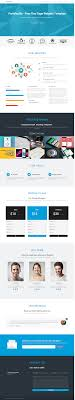 Free One Page Website Template Portefeuille Gugggly
