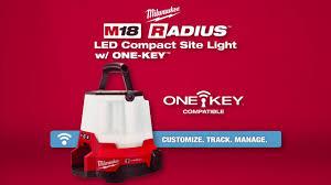 M18 Compact Site Light Milwaukee M18 Radius Led Compact Site Light