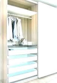 closet island with drawers master