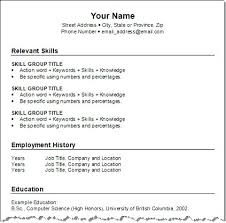 how to create resume in microsoft word create a resume template create resume format free 122 districte15