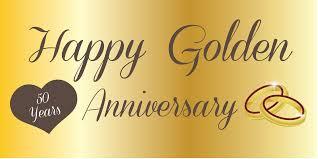 happy anniversary banners anniversary banner golden