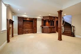 basement remodeling columbus ohio. Basement In New Construction Home With Wood Cabinetry Remodeling Columbus Ohio A