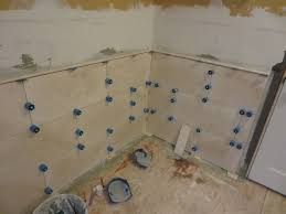 Captivating How To Install Large Format Travertine Tile Using Proleveling System