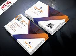 Free Business Card Templates Psd Free Psd Real Estate Business Card Template Psd By Psd Freebies