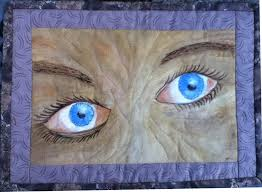 landscapelady the bluest eye a painted quilt the bluest eye a painted quilt