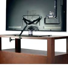 under cabinet mount with stow away feature swivel tv stand wall