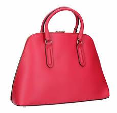 picture of furla peggy medium leather dome satchel