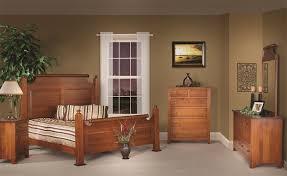 oak wood for furniture. Amish Holmes County Quarter Sawn White Oak Wood Bedroom Furniture Set For