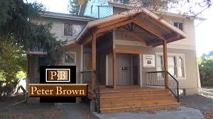 Wood Front Porch Designs Covered Front Porch Design In Bozeman Mt Bozeman