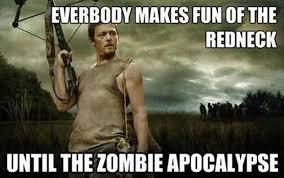 best-walking-dead-memes paste-walking-dead-redneck | Omg! It's the ... via Relatably.com