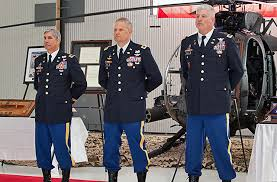 Flight Warrant Officer 160th Special Operations Aviation Regiment Holds Retirement Ceremony