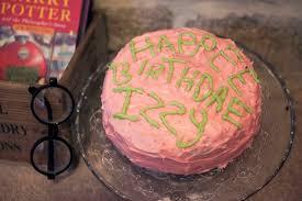 Harry Potter Birthday Cake Fundamentally Freja