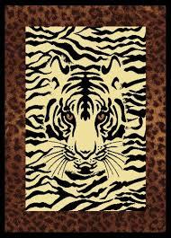 eyes white tiger rug