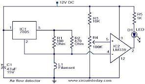 air flow detector circuit electronic circuits and diagrams air flow detector circuit jpg