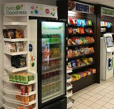 How To Break Into A Vending Machine For Food Fascinating MicroMarkets Self Serve Kiosks In North Shore And Greater Baton