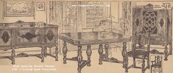 Furniture for your home in the 1920s with photographs prices and