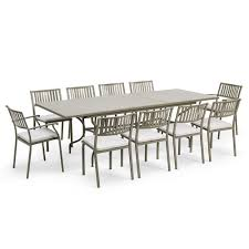stylish luxury garden dining sets designer tables chairs houseology 10 seater outdoor dining table prepare