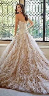 best 25 champagne wedding dresses ideas