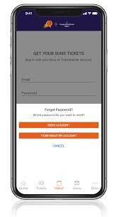 Mobile Ticketing Phoenix Suns