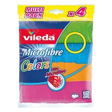 Купить <b>Салфетка Vileda</b> Microfibre <b>Colors</b> универсальная из ...