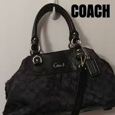 Coach sateen signature Madison