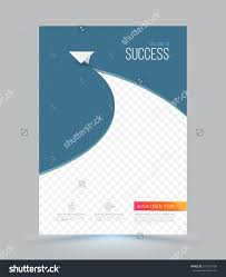 cover page layout template paper airplane stock vector 311167190 cover page layout template paper airplane vector illustration can use for leaflet