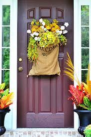 front door hangings18 Fall Door Decorations  Ideas for Decorating Your Front Door