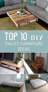 wood pallet furniture ideas. TOP 10 DIY Pallet Furniture Ideas Wood L