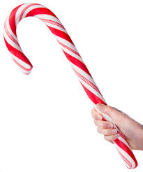 Big Candy Cane A Jolly Jumbo Treat Made Of Solid Peppermint Candy
