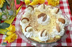 award winning no bake banana pudding pie