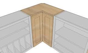 Making A Wall Cabinet Corner Cabinet For Kitchen Image Of Corner Kitchen Cabinet