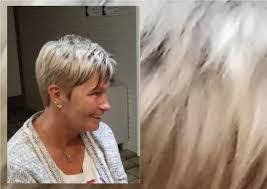 Kort Pittig Dameskapsel 2018 Platina Blond Hedendaagse