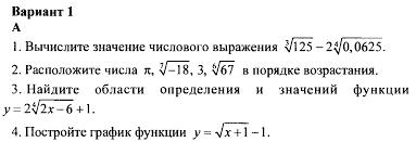 Контрольная работа по алгебре класс Корень n й степени  hello html 13d4dc7d png