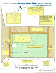 how to frame a garage doorMeasuring or Framing a door  Garage Door Fixer 501 6261846