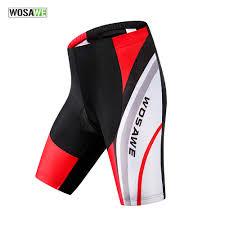 <b>WOSAWE</b> Gel Padded Anti Slip Cycling Shorts <b>Men</b> Downhill <b>MTB</b> ...