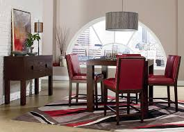most comfortable dining room chairs. Square Parsons-Style Counter Height Dining Table - Couture Elegance By Standard Furniture Wilcox Pub Corpus Christi, Kingsville, Most Comfortable Room Chairs