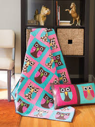 FREE Quilt Pattern Friday! *Whoo's Ready for Summer?* - Fons ... & ... so this whimsical quilt makes for the perfect addition to any kid's  room. It also makes an adorable gift. And… it's a FREE quilt pattern! Adamdwight.com