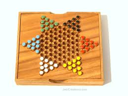 Wooden Peg Board Game Chinese Checkers Board Game Manufacturer Exports JediCreations 11