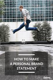 how to make a personal brand statement in this ever changing digital landscape personal brands have become the go to thing building your own mini brand online allows you to cultivate an