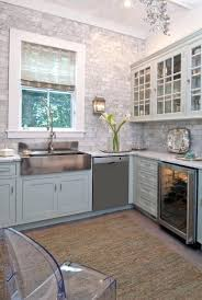 green kitchen rug amazing design with gray painted glass front cabinets marble