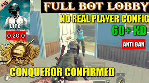 PUBG MOBILE LITE ONLY BOT LOBBY CONFIG ...