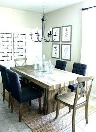 gray farm table farmhouse set design ideas dining room chairs kitchen and