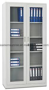 china 2 sliding glass door office furniture metal steel iron cupboard cabinet china filing cupboard storage cabinet